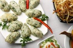 Chital macher muitha - A bengali fish preparation Stock Photos