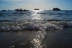 Chitara-Küste lizenzfreies stockbild