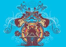 Chitarra royalty illustrazione gratis