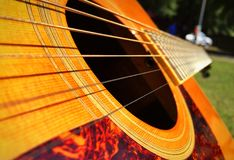 Chitarra Fotografie Stock Libere da Diritti