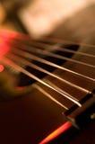 Chitarra acustica 02 Fotografia Stock Libera da Diritti
