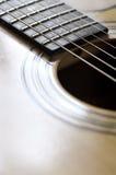 Chitarra acustica fotografie stock