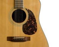 Chitarra acustica Immagini Stock Libere da Diritti