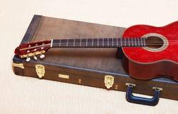 Chitarra acustica. Fotografia Stock