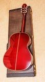 Chitarra acustica. Fotografie Stock