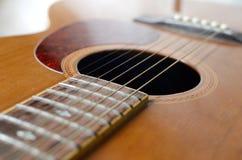 Chitarra acustica astratta Immagini Stock Libere da Diritti