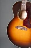 Chitarra acustica due fotografia stock libera da diritti