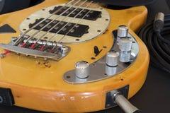 Chitarra bassa Fotografia Stock