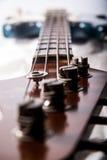 Chitarra bassa elettrica Fotografia Stock Libera da Diritti