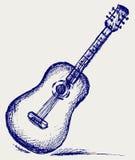 Chitarra classica illustrazione di stock