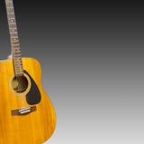 Chitarra classica elettrica Fotografie Stock