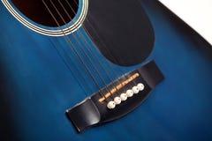 Chitarra degli strumenti musicali Fotografie Stock Libere da Diritti