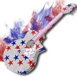 Chitarra dell'America Fotografia Stock Libera da Diritti