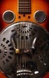 Chitarra dell'annata Fotografie Stock