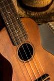 Chitarra delle ukulele immagine stock