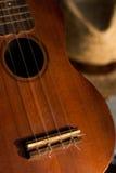 Chitarra delle ukulele Fotografia Stock