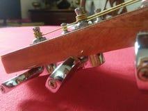 Chitarra dello strumento di musica Fotografia Stock