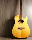 Chitarra di Acustic Fotografia Stock