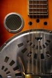 Chitarra di chitarra resofonica Fotografie Stock