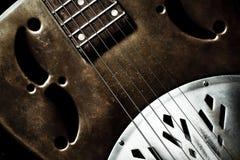 Chitarra di chitarra resofonica Immagini Stock