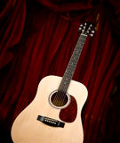 Chitarra di Dreadnought Fotografia Stock