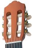 Chitarra di sintonia della sei-corda del piolo Fotografia Stock
