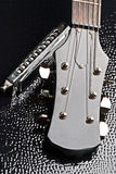 Chitarra ed armonica Fotografia Stock Libera da Diritti