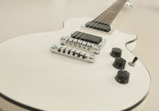 Chitarra elettrica Immagini Stock Libere da Diritti