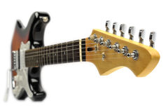 Chitarra elettrica della roccia Fotografia Stock