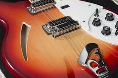 Chitarra elettrica di Rickenbacker Immagini Stock Libere da Diritti