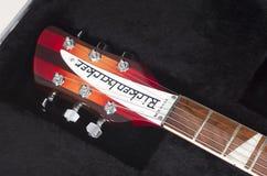 Chitarra elettrica di Rickenbacker Immagine Stock