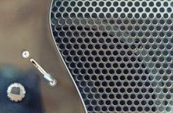 Chitarra elettrica e amp combinato fotografia stock