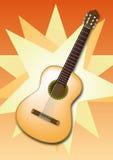 Chitarra spagnola Fotografia Stock Libera da Diritti