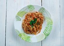 Chitarra van spaghettialla Stock Afbeelding