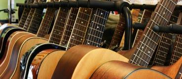 Chitarre Fotografia Stock