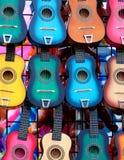 Chitarre dei giocattoli Fotografie Stock