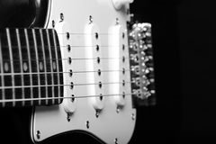 Chitarre elettriche Fotografia Stock