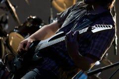 Chitarrista Fotografia Stock