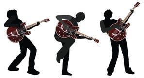 Chitarrista Illustrazione Vettoriale