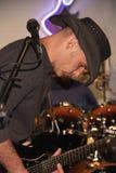 Chitarrista di cavo Fotografia Stock