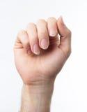Chitarrista Hand Immagini Stock