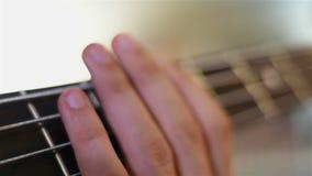 Chitarristi che giocano su Bass Guitar archivi video