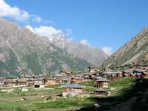 Chitkul, HP, India stock photo