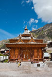 Chitkul temple Royalty Free Stock Photo