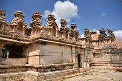 Chitradurga堡垒纪念碑和废墟,卡纳塔克邦 免版税库存照片