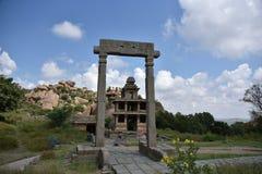 Chitradurga堡垒纪念碑和废墟,卡纳塔克邦 库存图片
