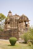chitragupta khajuraho寺庙 库存图片