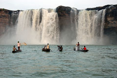 Chitrakoot Waterfalls royalty free stock images