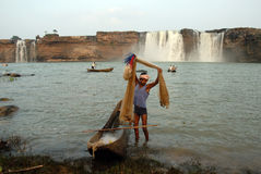 Chitrakoot Waterfalls Royalty Free Stock Image