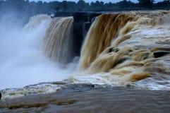 Chitrakote vattenfall Royaltyfri Foto